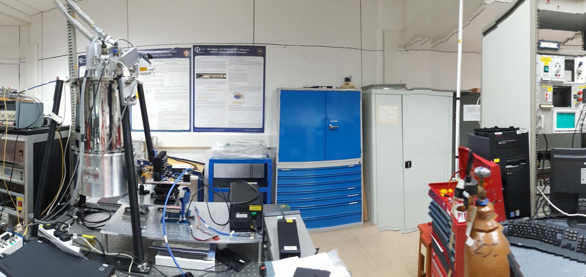Superconducting Quantum Detector Laboratory
