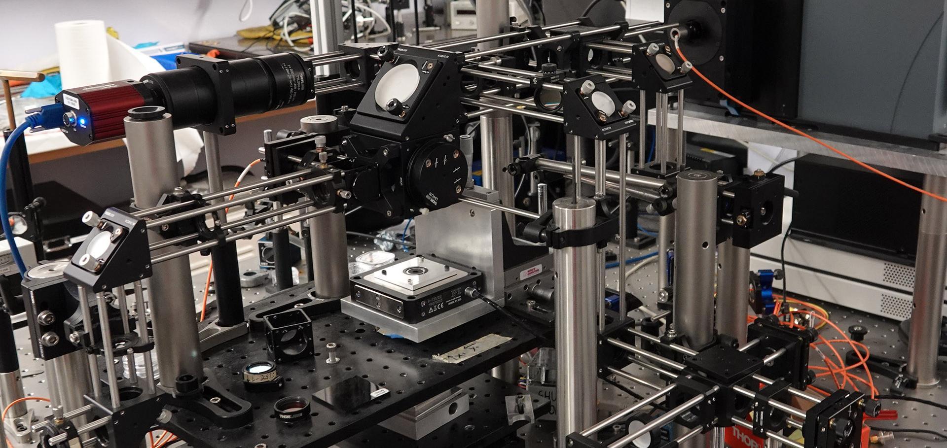 Micro-PL experimental apparatus