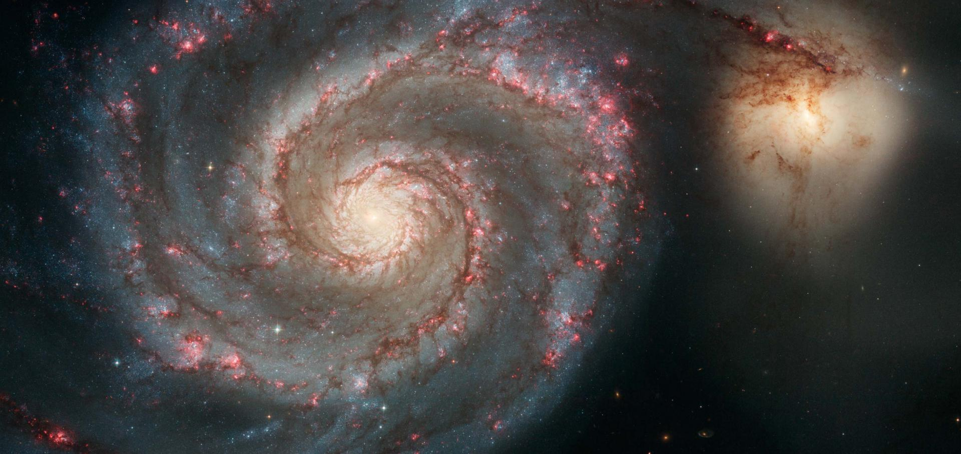 The Whirlpool Galaxy M51